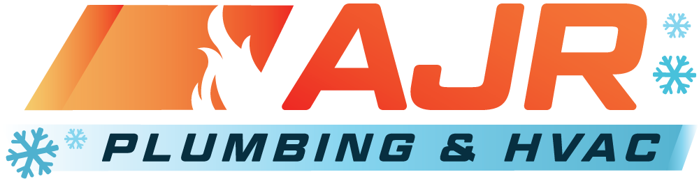 AJR Plumbing & HVAC logo and link to home